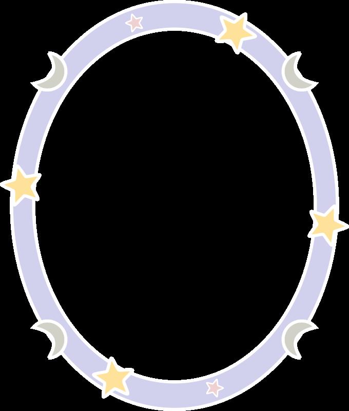 Free Starry night frame