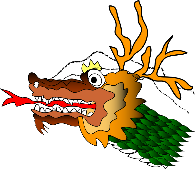 Free Clipart Chinese Dragron