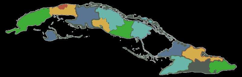 Free Cuba provincias