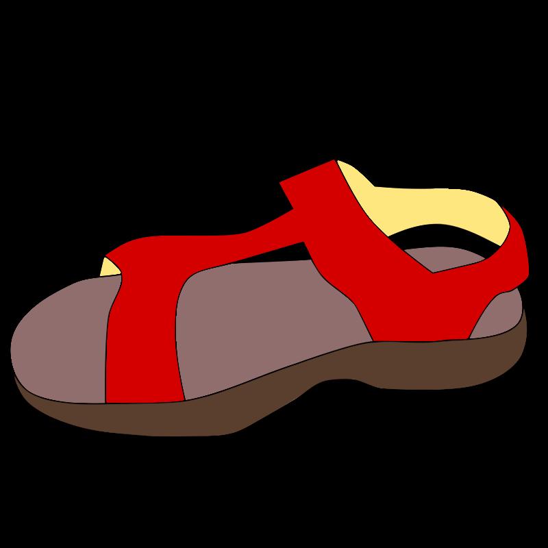Free Red sandal