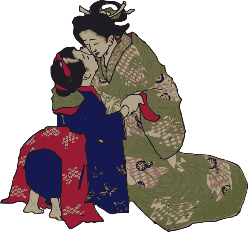 Free Kissing Geisha