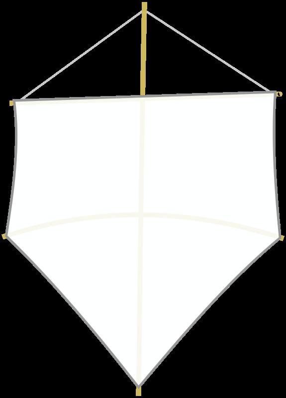 Free White kite