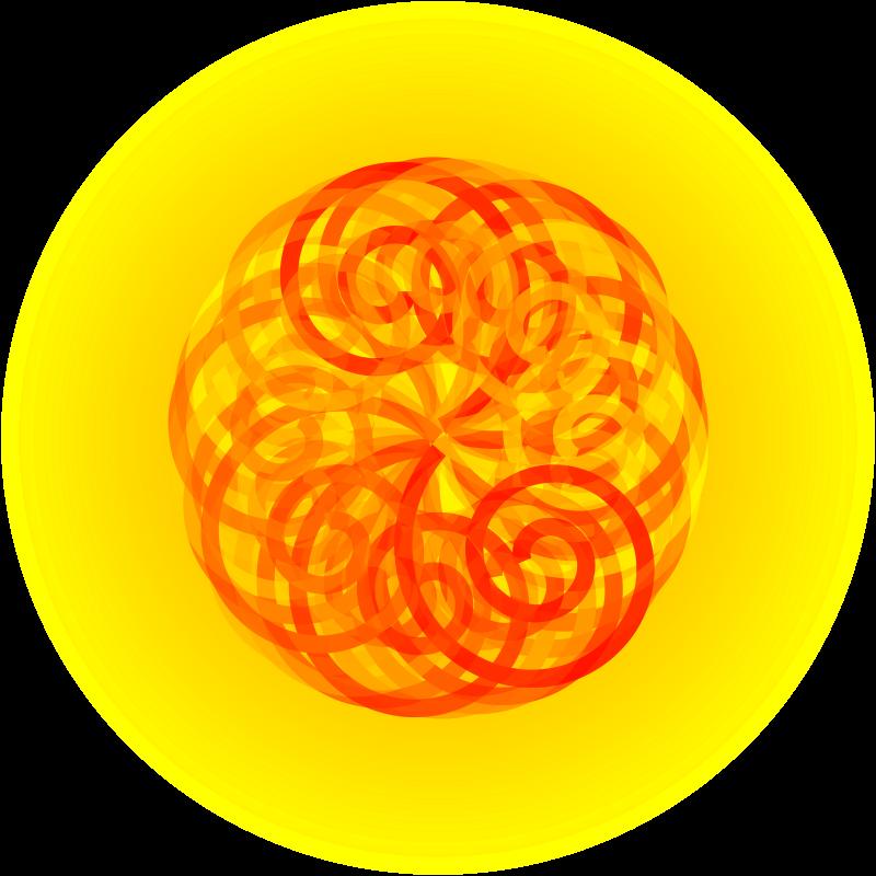Free Spiral sun