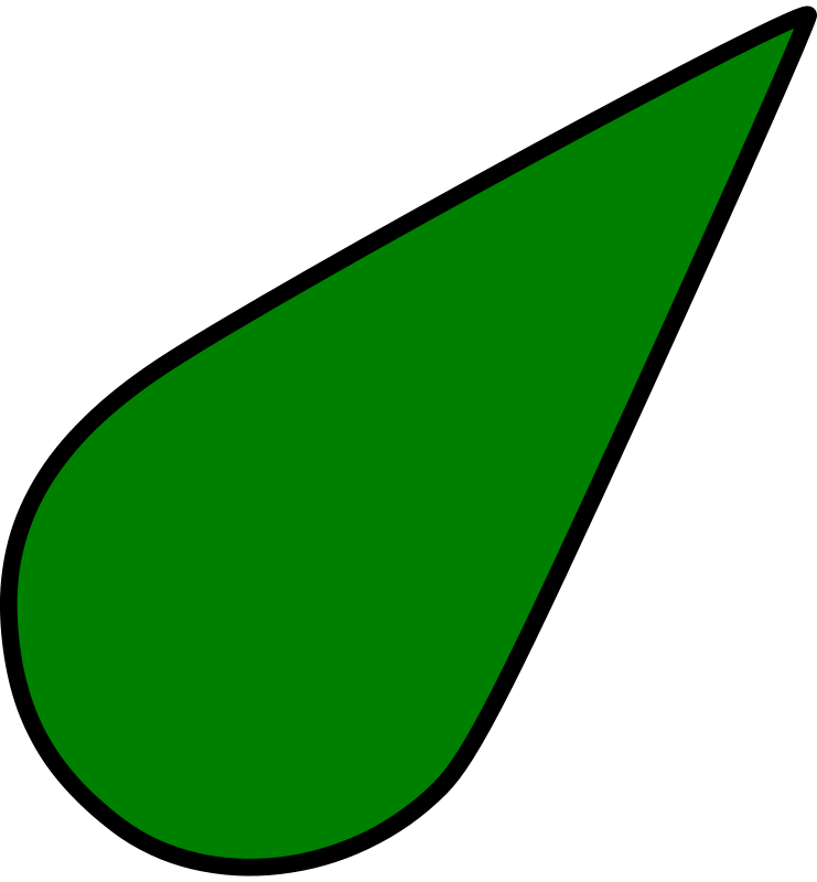 Free sea chart symbol light green