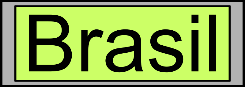 "Free Digital Display with ""Brasil"" text"