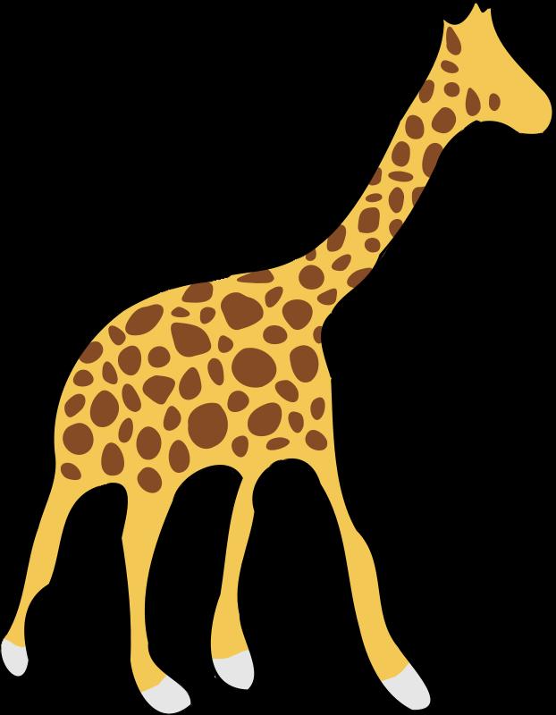 free clipart giraffe laobc rh 1001freedownloads com free giraffe clip art images free baby giraffe clipart