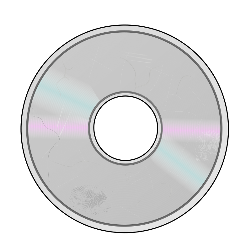 Free Damaged Compact Disc