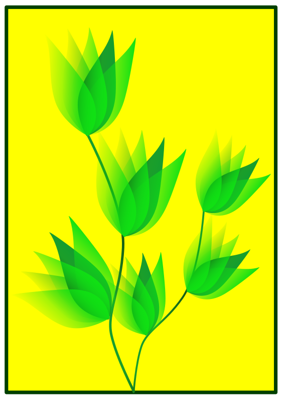 Free Green Flower