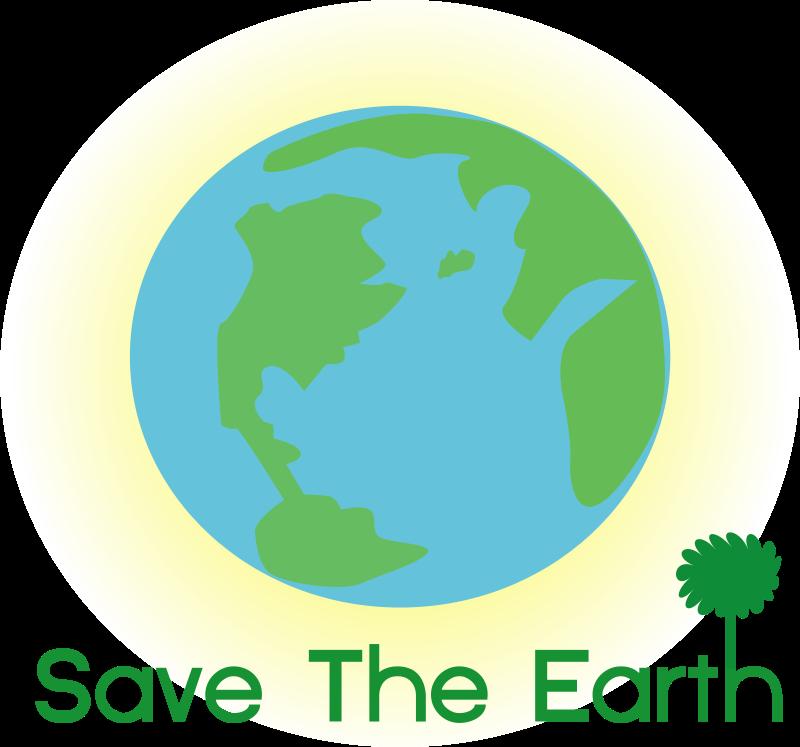 Free logo save earth