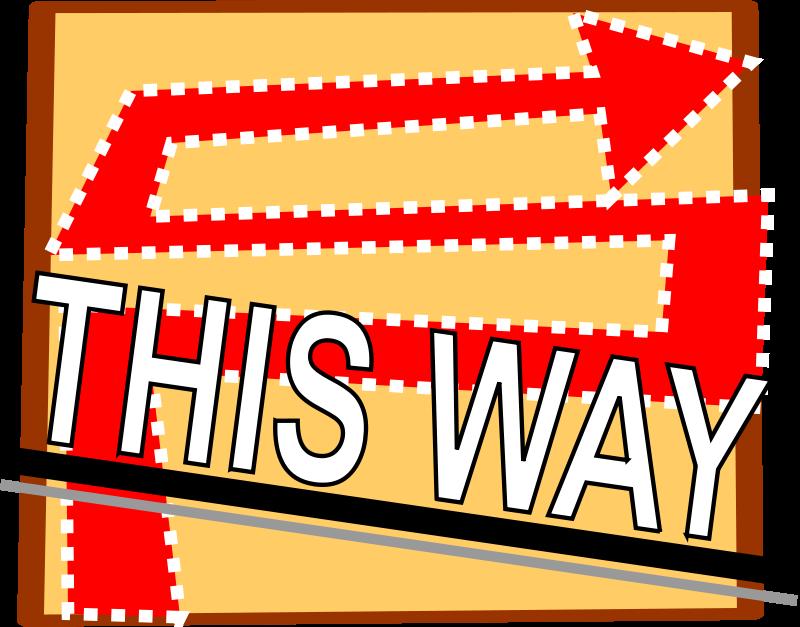 Free way,arrow