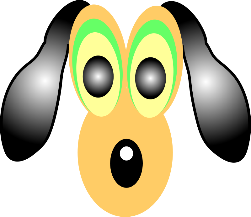 Free dog,cartoon