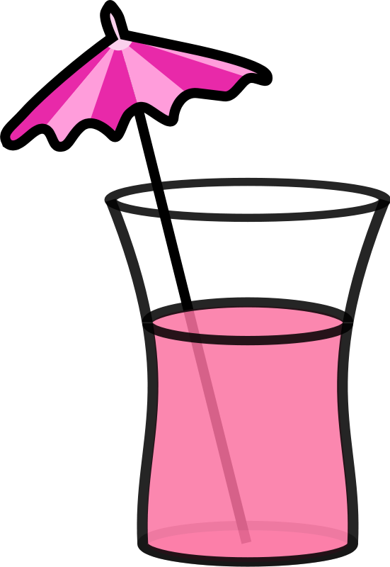 Free Pink cocktail