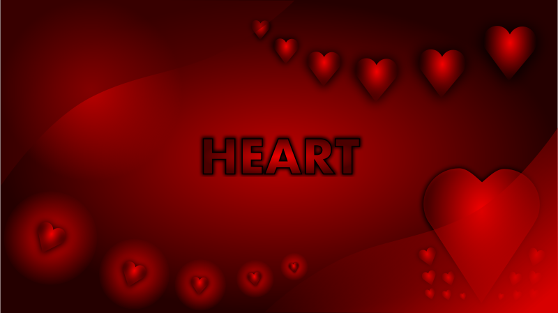 Free Valentine Heart Wallpaper
