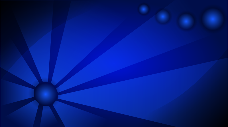 Free Blue Abstract Wallpaper