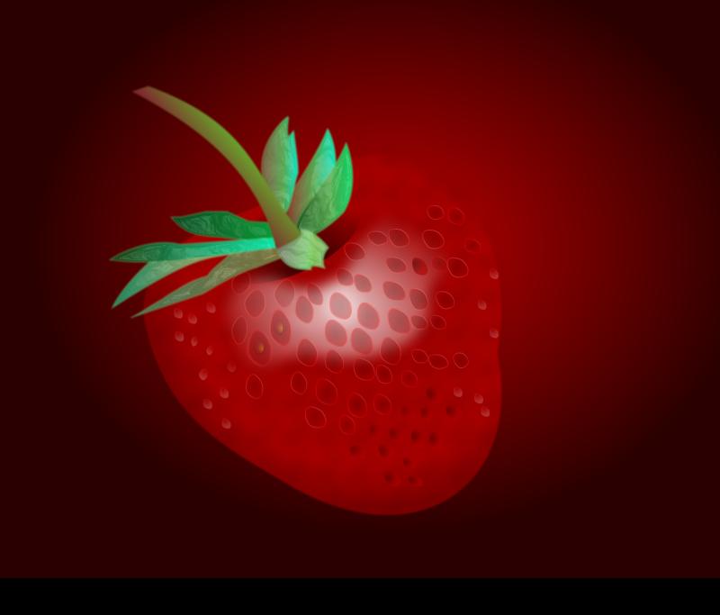 Free Realistic strawberry