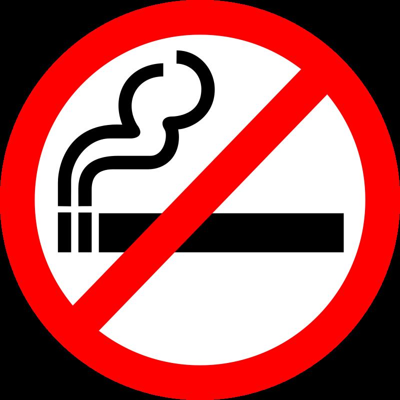 "Free Sign ""No Smoking"""