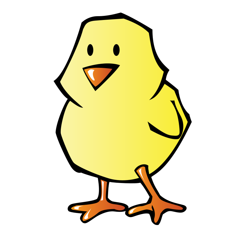 free clipart chick pianobrad rh 1001freedownloads com baby chick clipart black and white baby chick clipart