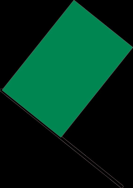 Free Green flag
