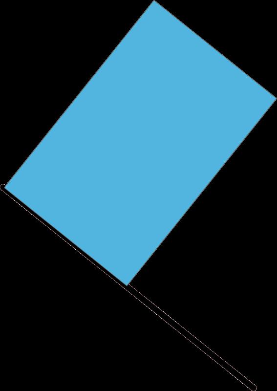 Free Blue flag