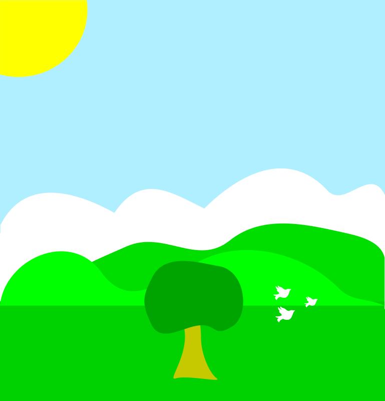 Free Spring scene
