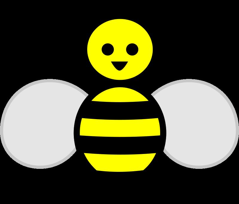 Free Clipart Honey Bee