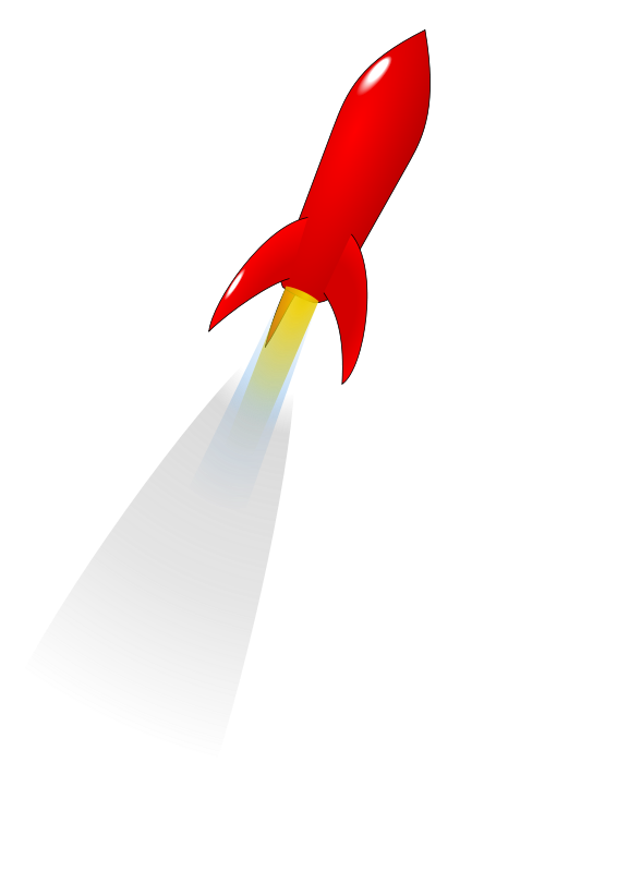 Free Launching Red Rocket