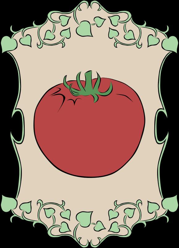 Free Garden Sign Tomato
