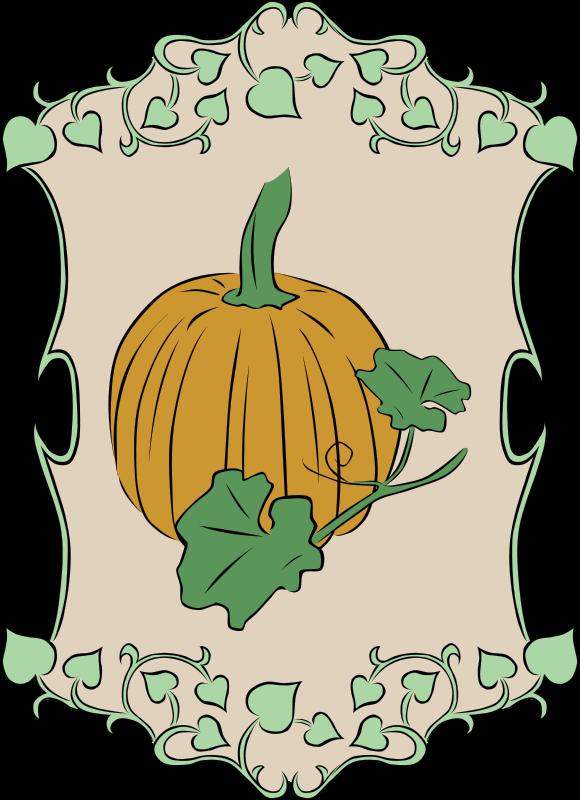 Free Garden Sign Pumpkin