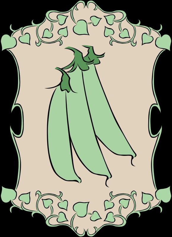 Free Garden Sign Peas