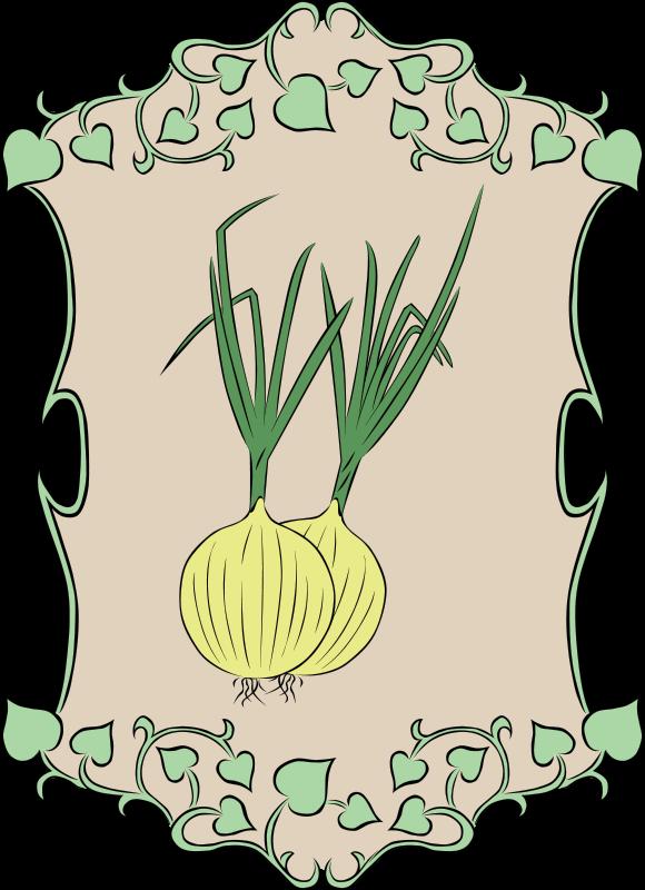 Free Garden Sign Onion