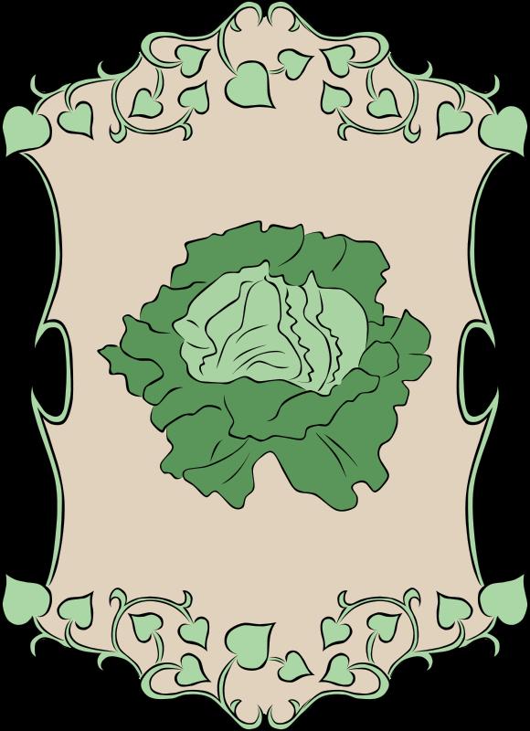 Free Garden Sign Lettuce