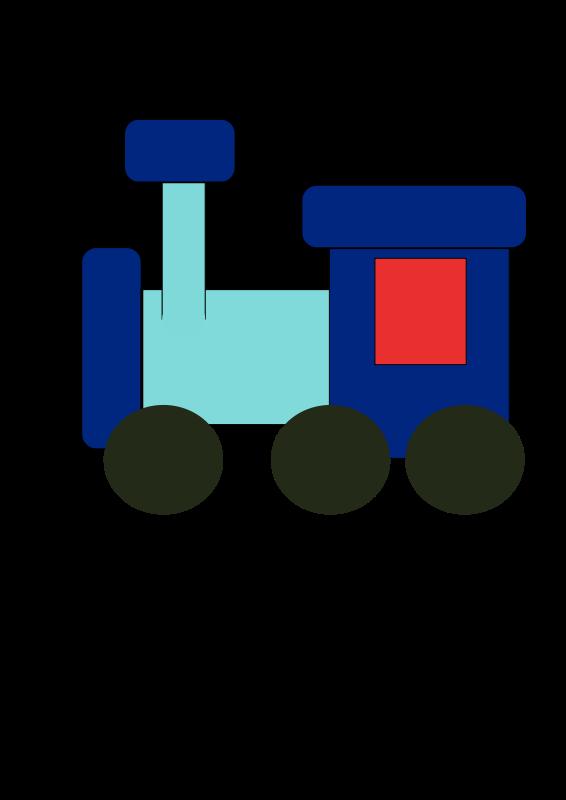 Free kiddy train