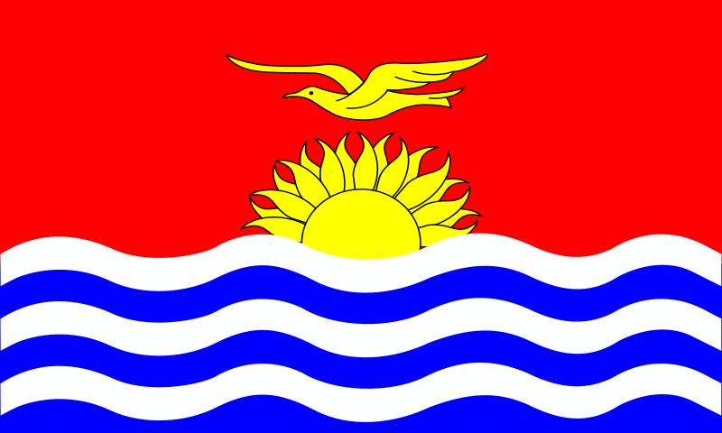 Free kiribati flag patricia  08r