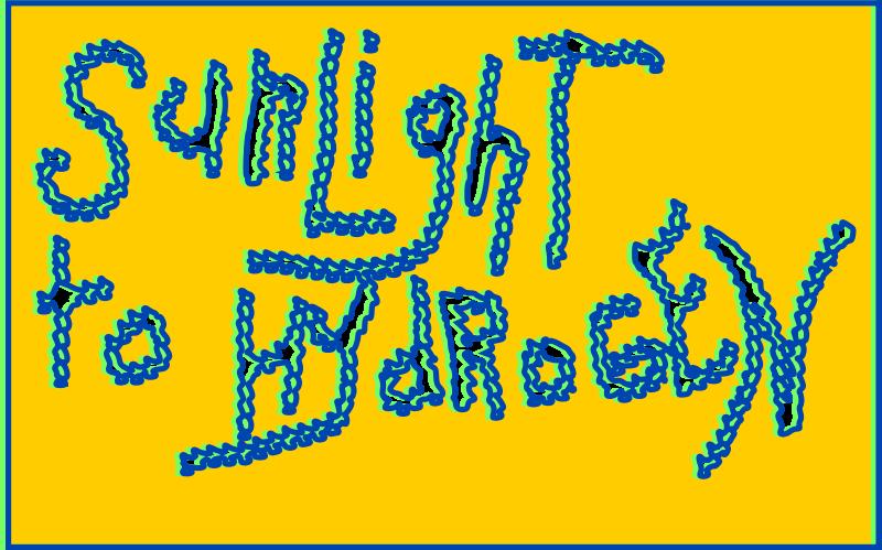Free Unsprayed Graffiti: SUNLIGHT TO HYDROGEN