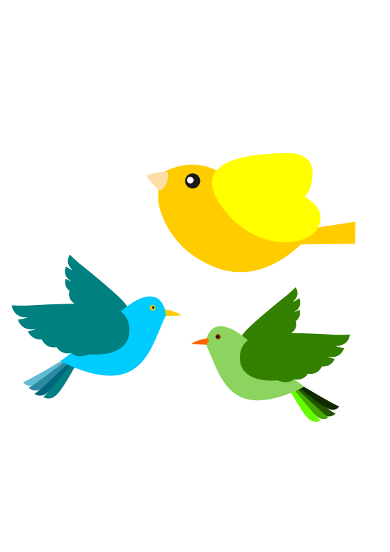 Free Clipart: Passarinhos Birds | glauciarezende