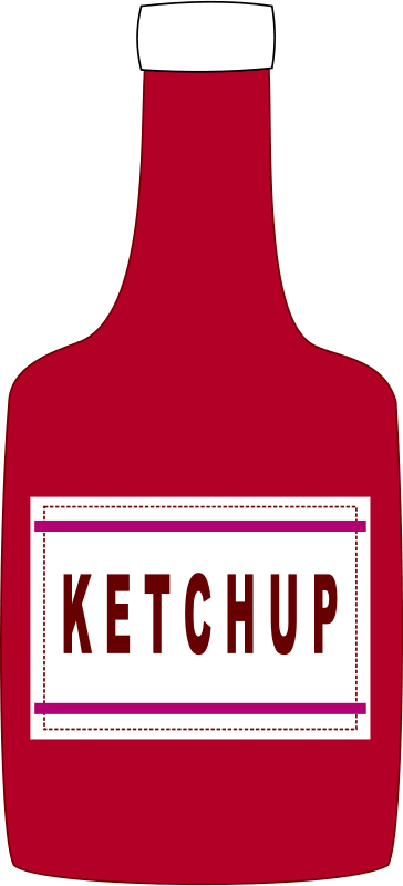 Free Ketchup bottle