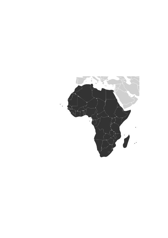 Free Africa continent