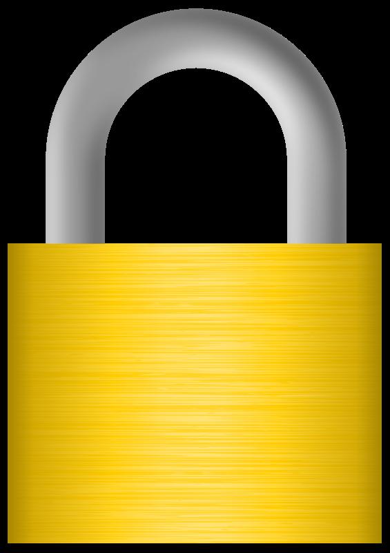 Free Clipart: Lock | jhnri4