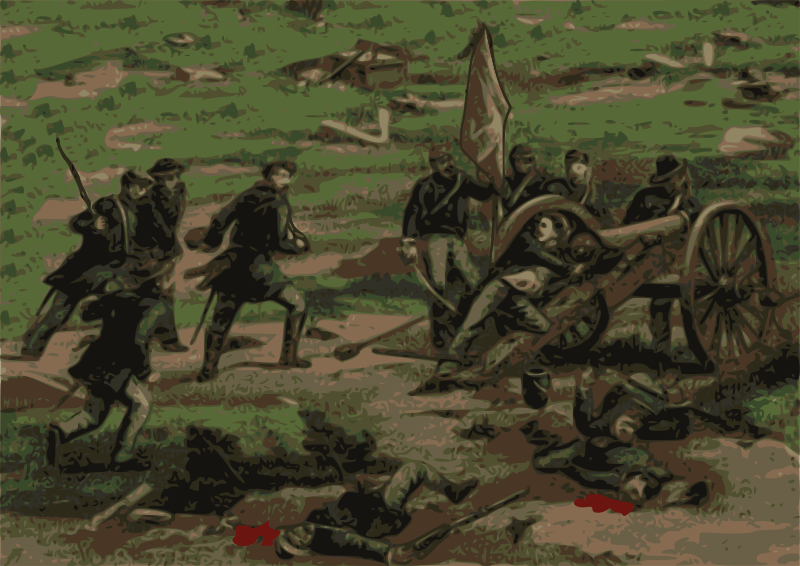 Free civil war battle