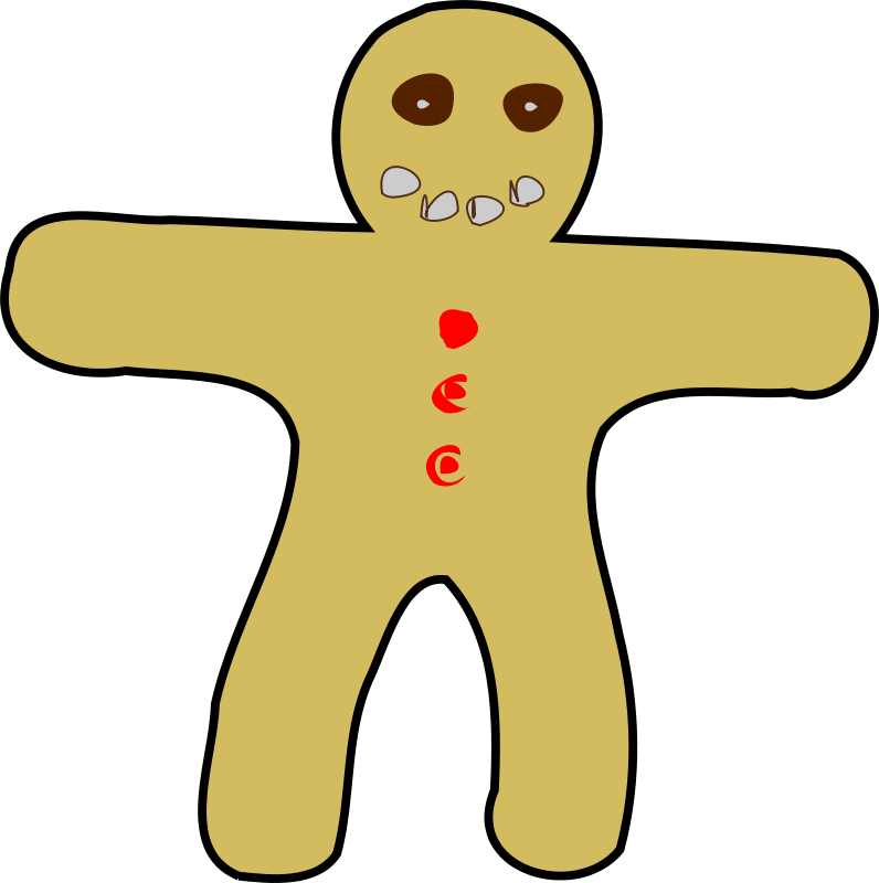 Free Gingerbread Man