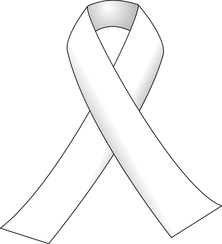 Free White ribbon