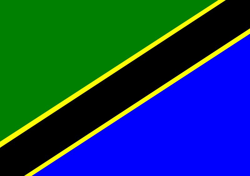 Free Tanzania Flag