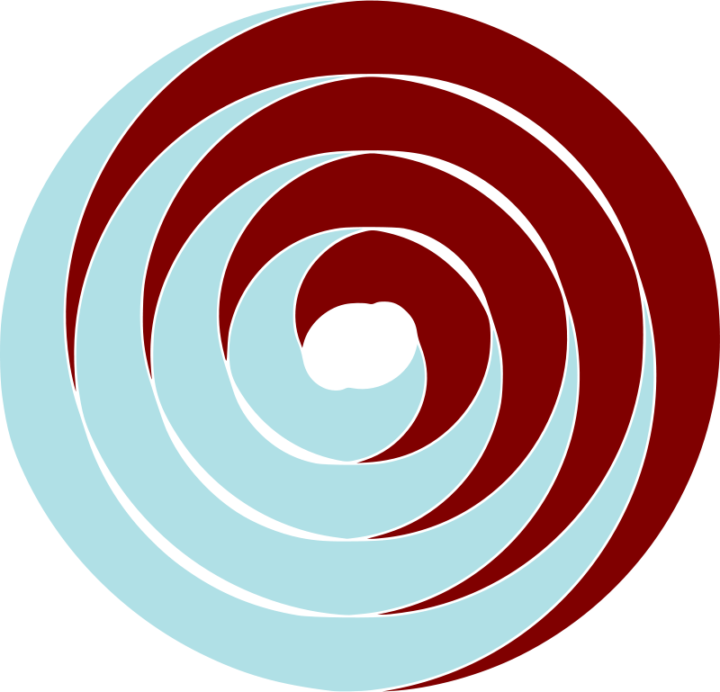 Free double spiral