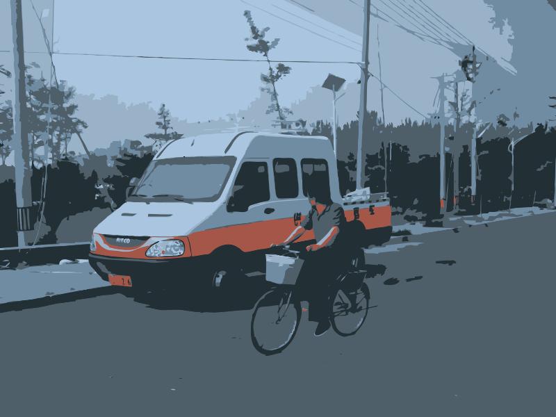 Free Weird Truck and CCD Biker