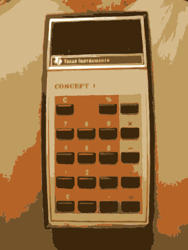 Free Grandma old TI Calculator