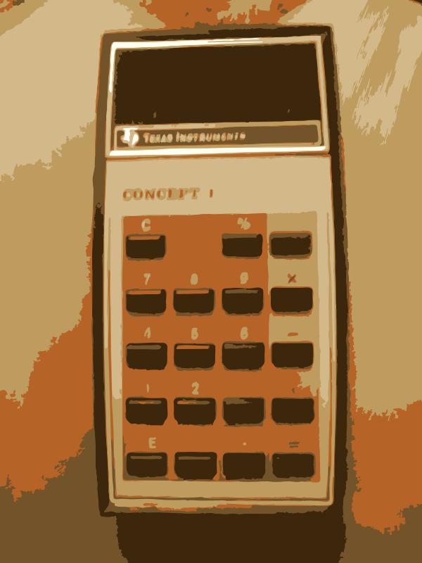 Free Grandma old TI Calculator