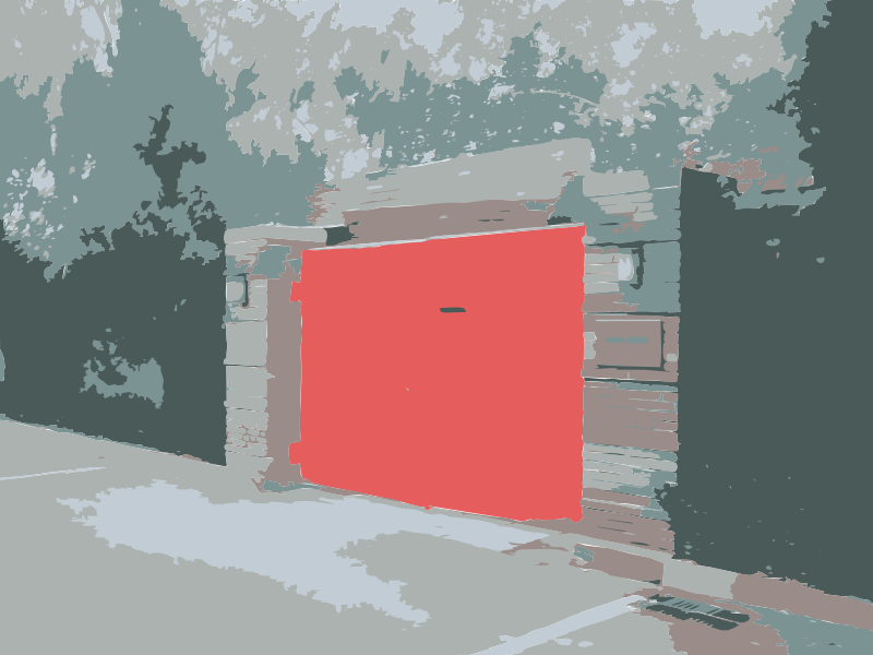 Free CaoChangDi Red Door on AiWeiWei Studio