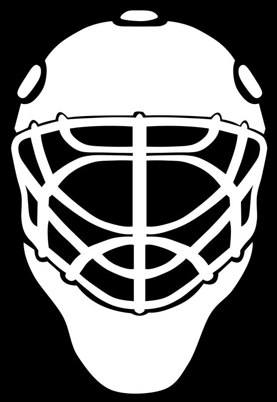 Free Goalie Mask Simple