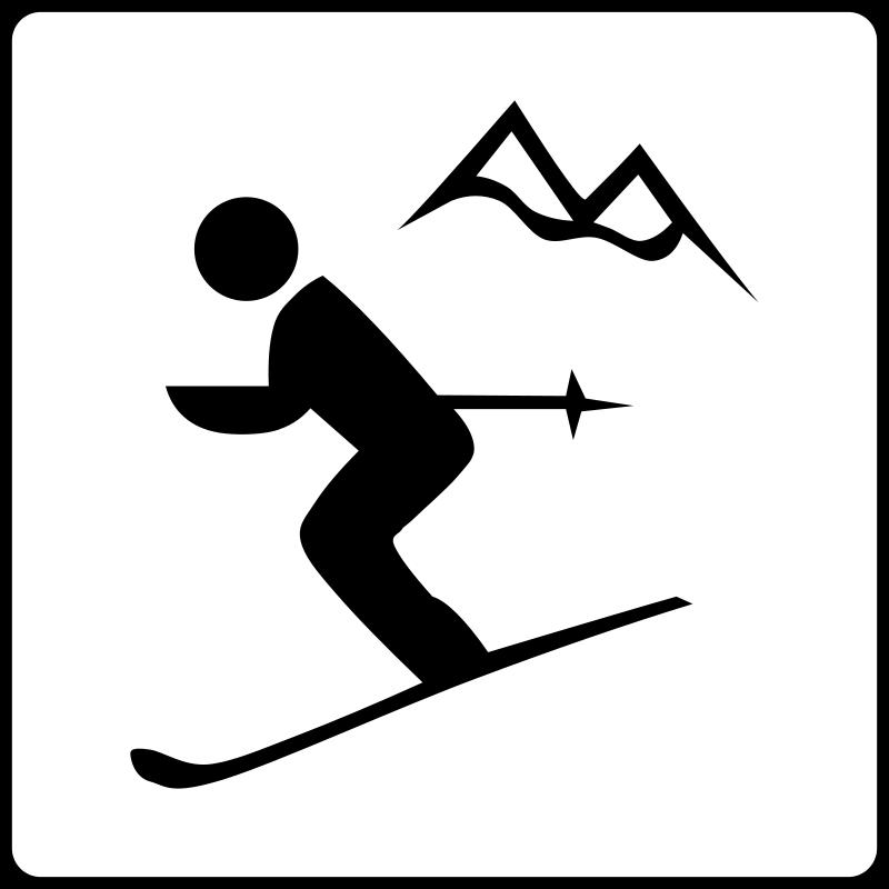 Free Hotel Icon Near Ski Area
