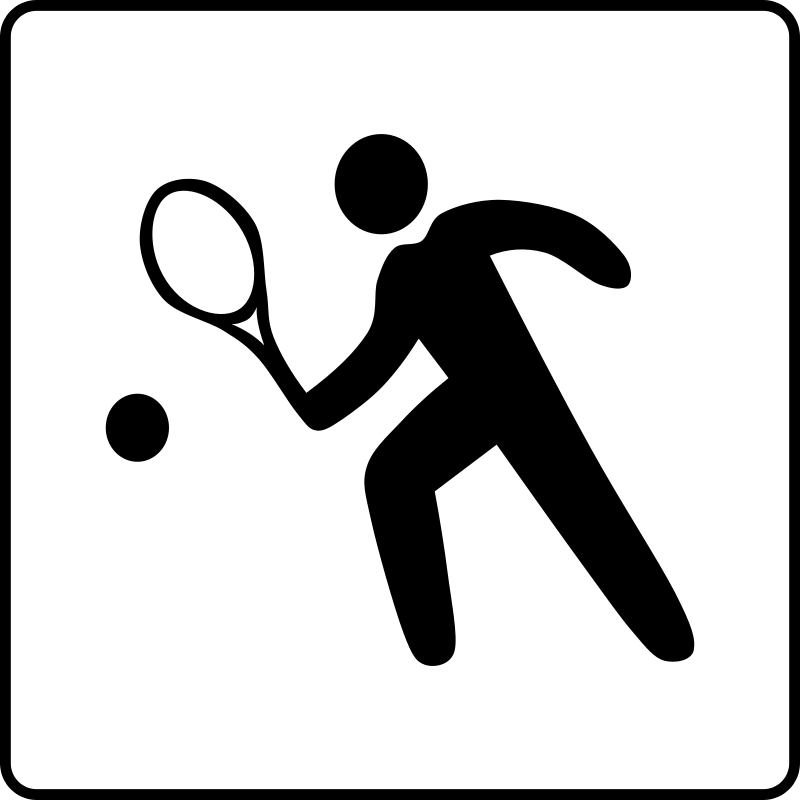 Free Hotel Icon Has Tennis Court